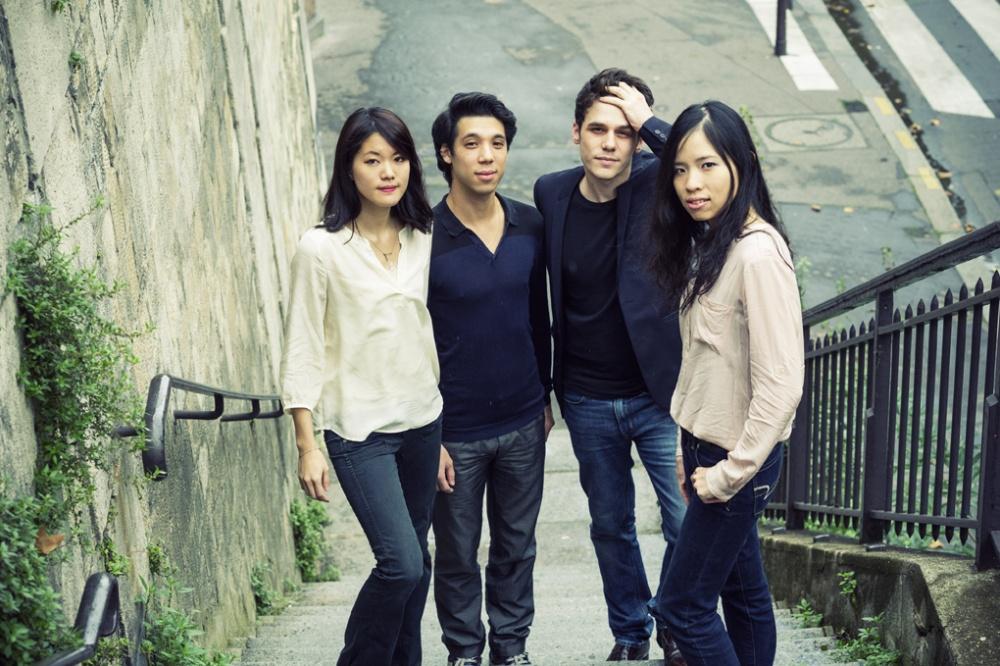 Photo du Quatuor Hermes